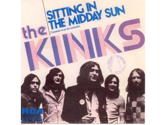 "KINKS - Sitting In The Midday Sun  PROMO  7"" Singel  Spanien"