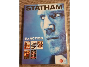 DVD Film Statham 5x action crank transporter 3