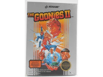 EMPTY BOX - The Goonies II (box only, no game!) -