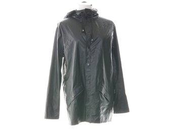 Rains, Regnjacka, Strl: XSS, Svart, Polyester