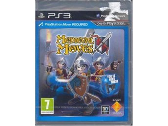 MEDIEVAL MOVES -KRÄVS PLAYSTATION MOVES(INPLASTAT PS3 SPEL )