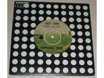 Napoleon Jones 45a Lazy love 1975 VG++