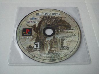 PS1: Final Fantasy Origins - FF1+FF2 (Enbart skivan - NTSC!)