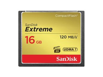 SANDISK CF Extreme 16GB 120 MB/s