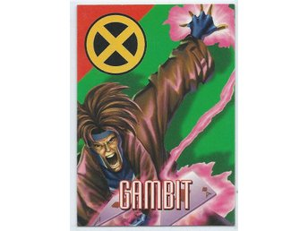 MARVEL X-MEN  SAMLARKORT - GAMBIT