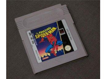 GB: the Amazing Spider-Man SCN Nintendo Game Boy Spiderman - Karlstad - GB: the Amazing Spider-Man SCN Nintendo Game Boy Spiderman - Karlstad