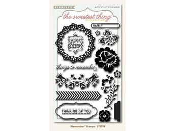 MME, Clear Stamps THE SWEETEST THING