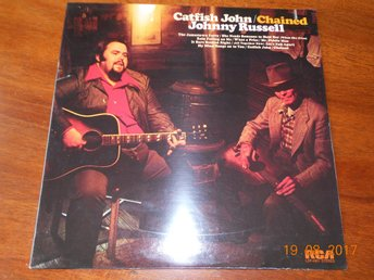 CATFISH JOHN - Chained JOHNNY RUSSELL, LP RCA USA '73 Förseglad!