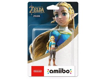 Amiibo Figurine - Zelda (Zelda: Breath of the Wild Collection) - Amiibo