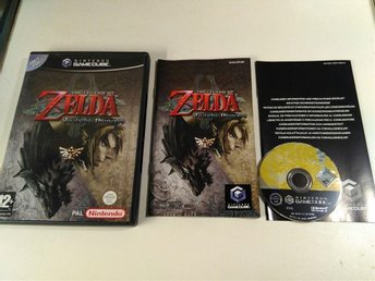 Gamecube - Zelda: Twilight Princess / Bergsala / Fint skick