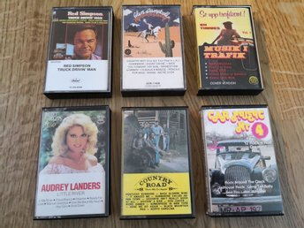 Kassettpaket: Country, Glen Campbell, Country Road, rock'n roll