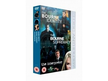 The Bourne Identity / The Bourne Supremacy / Tolken - 3 Filmer 3 Disc DVD