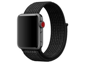 Nylon Loop 38/40mm Apple Watch Armband - (DARKNESS)