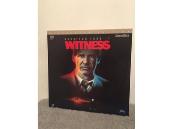 Harrison Ford i WITNESS US LASERDISC widescreen