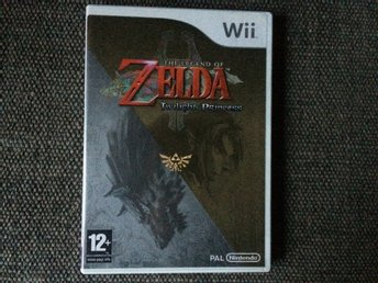 The Legend of Zelda Twilight Princess till Nintendo Wii