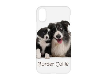 Hund Border Collie iPhone XS Max Skal