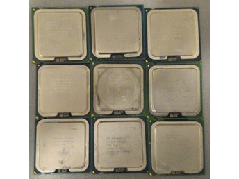 9 CPU socket 775 single and dual core upto 3GHz