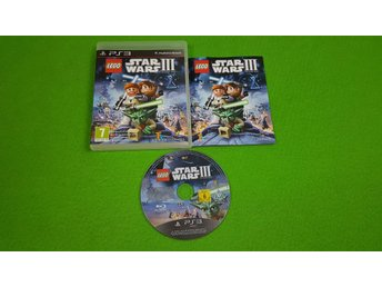 Lego Star Wars 3 KOMPLETT Ps3 Playstation 3