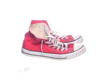 c3f3c7bc6ce Converse, Sneakers, Strl: 40, Röd/Vit (343878041) ᐈ Sellpy på Tradera