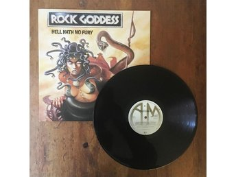 Rock Goddess - Hell Hath No Fury LP | heavy metal hårdrock