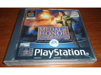Medal Of Honor Underground - PS1 / Playstation 1