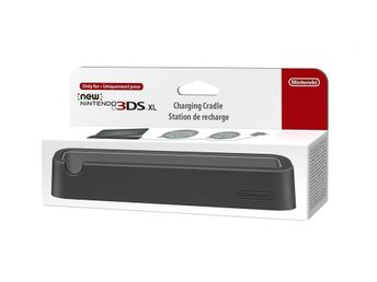 New Nintendo 3DS XL Charging Cradle - Black