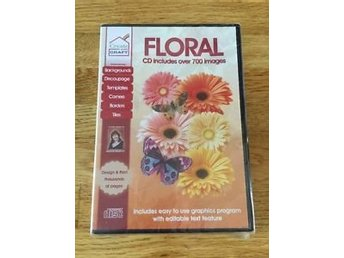 Floral CD Includes over 400 Images - PC Program