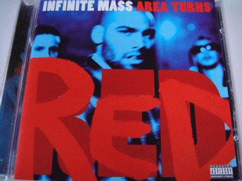 INFINITE MASS Area turns red CD MAXI RARITET