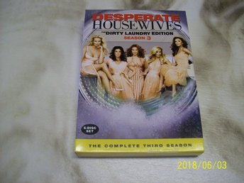 Desparate Housewiwes - Säsong 3 - DVD-BOX