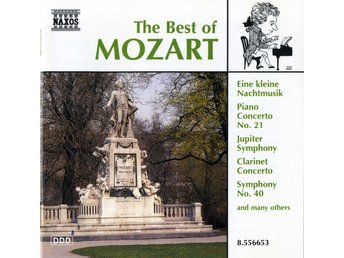 MOZART (M) – The Best Of Mozart / CD NAXOS