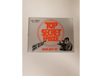 Golgo 13 - Manual NES NINTENDO - USA