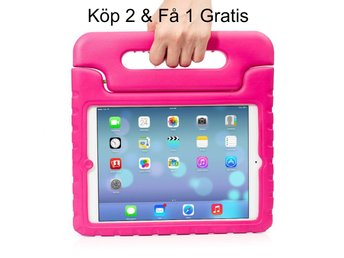 iPad 9,7 (2017) Kids Shockproof Stand Case Cover/Kids Friendly Case - Rosa