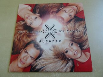 ALCAZAR Not a sinner nor a saint Melodifestivalen 2003 CD Disco Magnus Carlsson