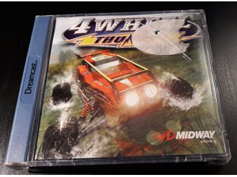 4 Wheel Thunder - Komplett - Sega Dreamcast