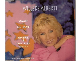 Eurovision 2004 Netherlands: Willeke Alberti – War is de zon – CD-single.