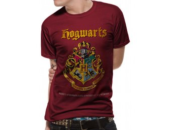 Harry Potter - Hogwarts Property Crest  T-Shirt Small