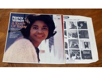 NANCY WILSON Touch of today UK Capitol Jazz/pop/ Soul 1966