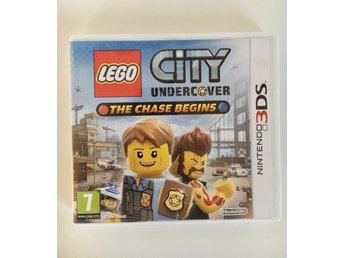 NINTENDO 3DS Spel LEGO City Undercover: The Chase Begins Gameboy JULKLAPPSTIPS