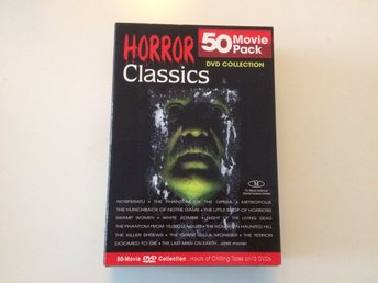 50 Movie Pack - Horror Classics - 12-dvd Collection