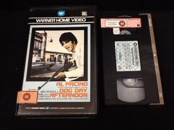 Dog day afternoon  / f.d. Hyrfilm / ex rent / UK / ej svensk text / Al Pacino