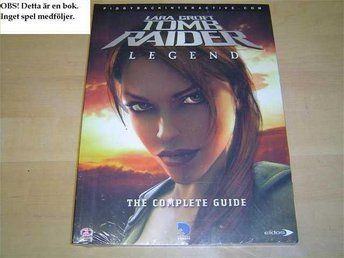 GUIDE WALKTHROUGH TOMB RAIDER LEGEND PLAYSTATION 2 *NYTT*