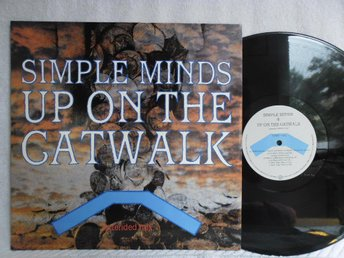 SIMPLE MINDS - UP ON THE CATWALK - VIRGIN VS 661-12