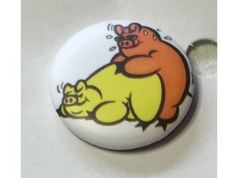 MAKIN BACON .  Badge ,nålmärke. 25mm