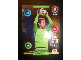Panini Adrenalyn XL EURO 2016 - Goal Stopper - ANDREAS ISAKSSON - Sverige