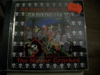 "Gravedigger V "" The Mirror cracked/ All black and hairy"""