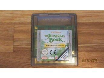 THE JUNGLE BOOK MOWGLIS WILD ADVENTURE till Game Boy Color GBC - Västerås - THE JUNGLE BOOK MOWGLIS WILD ADVENTURE till Game Boy Color GBC - Västerås
