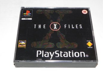 The X Files Arkiv X Sony PlayStation PS1 PSONE PSX