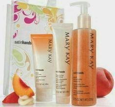 Mary Kay Satin Hands Pampering set Peach - Vingåker - Mary Kay Satin Hands Pampering set Peach - Vingåker