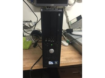 Dell Optiplex 380 SFF ,Intel Dual Core @ 3,2Ghz, 4 Gb Ram, 250 Gb HD, Win 7 Pro