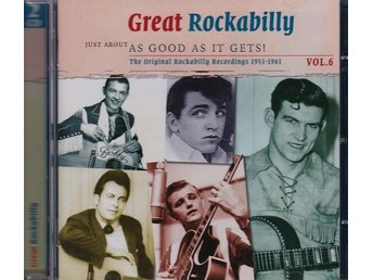 V/A - Great Rockabilly vol 6,1953-1961  2 CD